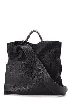 JIL SANDER :: Xiao leather crossbody bag