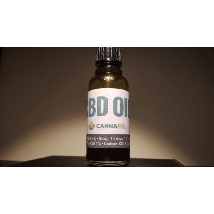 Cannapol olej CBD 4% -10ml 400mg CBD Premiera