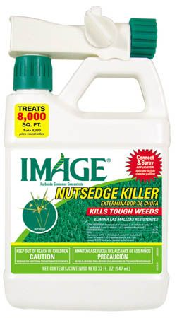 Image Herbicide to get rid of the sticker bur weeds in our yard!