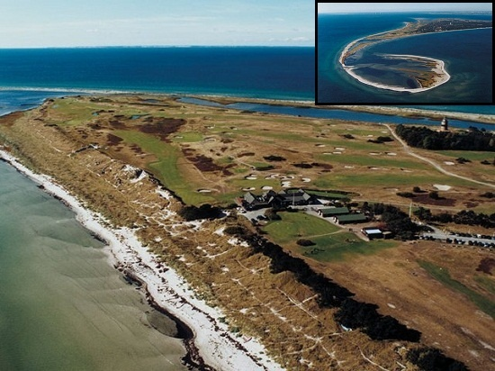 Located at the tip of Sweden's Falsterbo peninsula, the course is also frequented by birdwatchers. (6,391 yards; par 71)