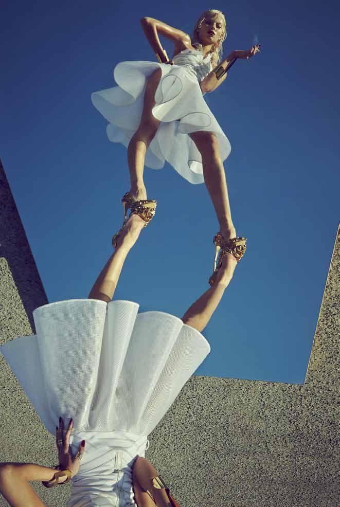 French Revue de Modes Issue 24   Vika Falileeva by Urivaldo Lopes  [Editorial]