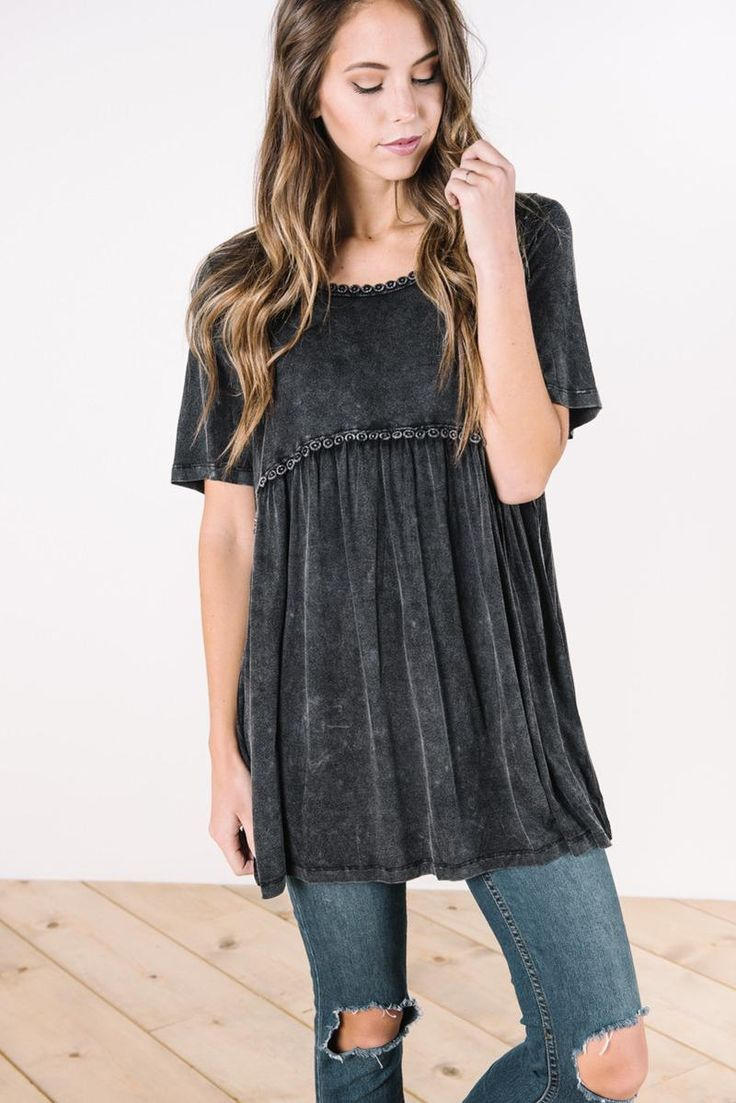Stylish and affordable tops for the fashion forward girl. Stay on trend. Nursing friendly, modest, casual, and dressy tops for women online