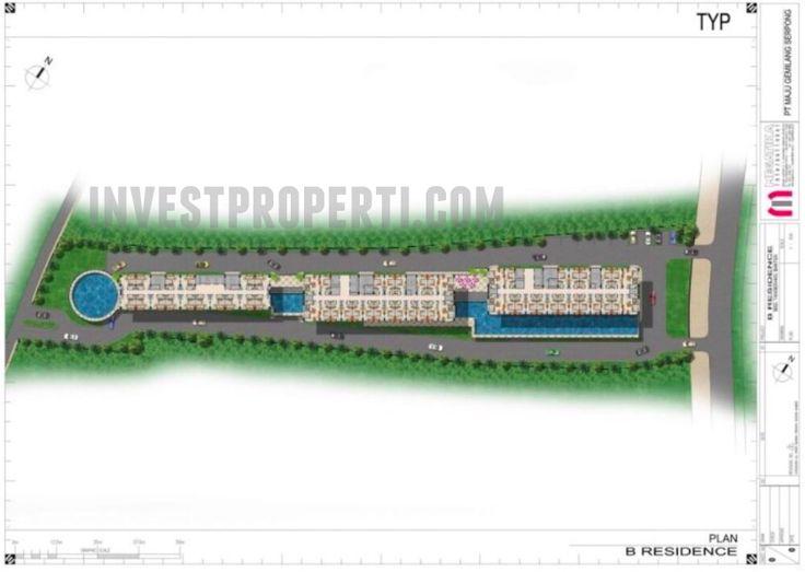 Master Plan B-Residence Apartemen  BSD