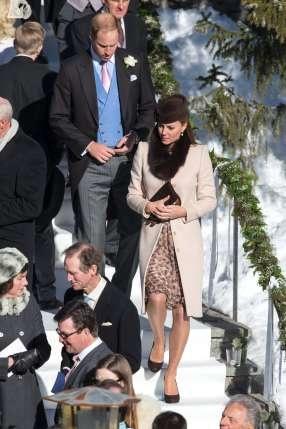 Schwangere Kate & die Prinzen in Arosa: Vor der Hochzeit gings auf die Piste – Royals – Blick