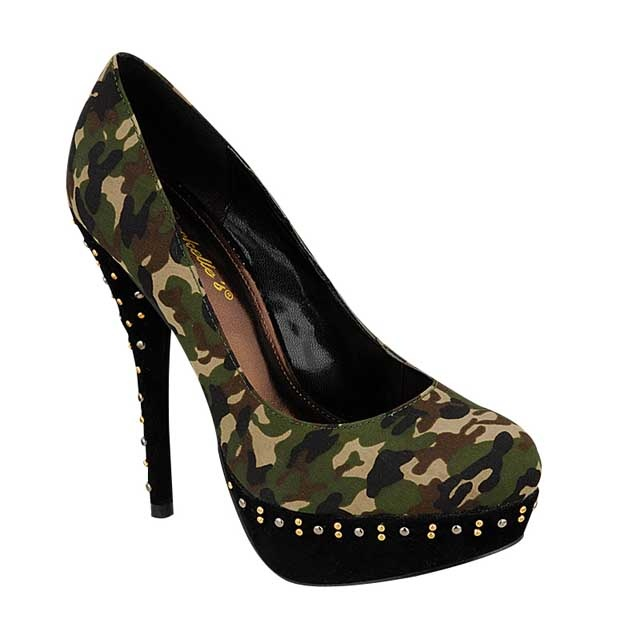 17 best ideas about camo high heels on