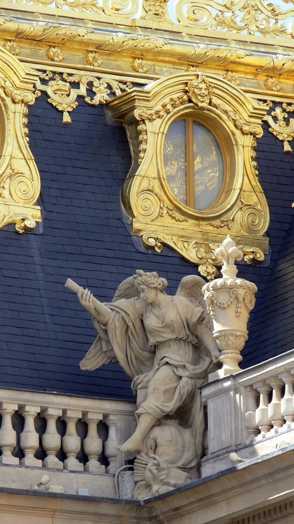 Detail from versailles roof~decadent throughout