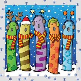 actividades para educacin infantil fuentes para hacer carteles de navidad