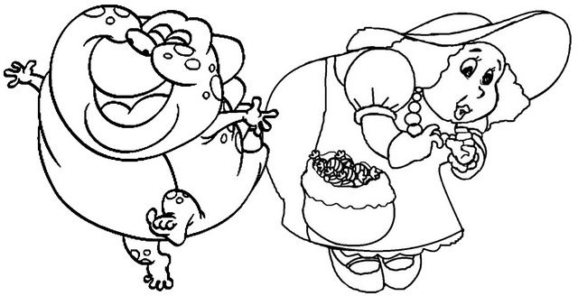 Gramma Nutt And Jolly Coloring Pages Of Candyland Candyland Coloring Pages Candyland Birthday