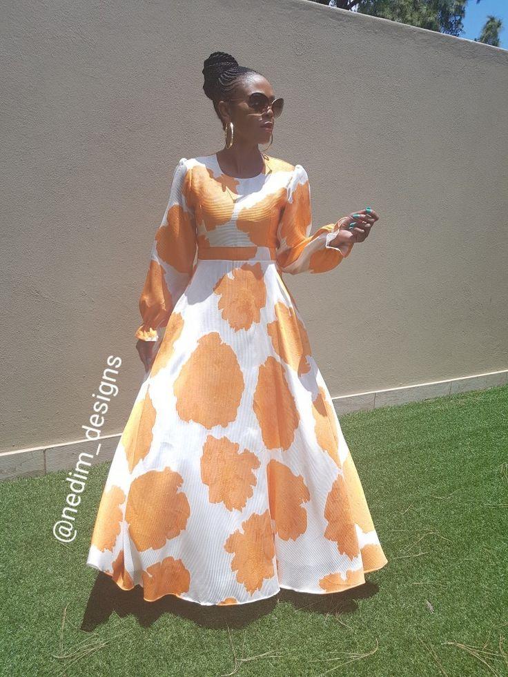 Orange Maaxi @nedim_designs