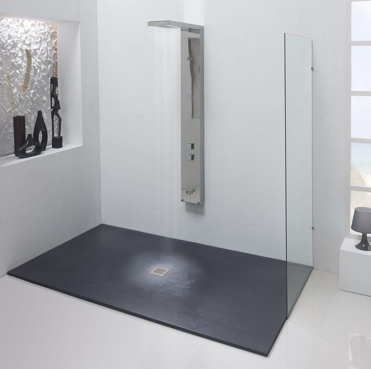 Platos de ducha de diseño creativo y diferentes formatos