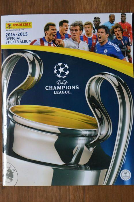 Panini - UEFA Champions League 2014/2015 - compleet Album.  Panini - UEFA Champions League 2014/2015 - compleet Album.Stickers netjes vast ik heb een foto van elke pagina om de best mogelijke indruk van deze nette albumdus allemaal gelieve te zien.Alle hebben voltooid in nieuwstaat.Controleer of alle foto's perfecte postzegels.Een geweldig seizoen om te onthouden.Op dit seizoen waren de volgende clubs aanwezig:Club Atético de Madrid - Juventus - Olympiakos FC - Malmö FF - Real Madrid - FC…