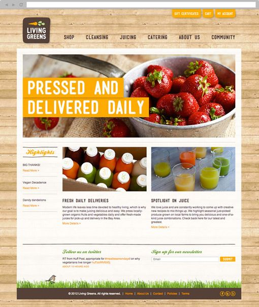 Web Design Project Ideas construction schedule control on oil sector in iraq 5 4 San Francisco Studio Recently Completed An In Depth Branding And Design Project For Living Greens An Organic Juice Company