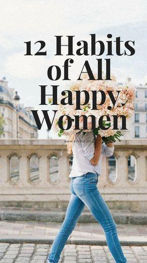 12 habits all happy women