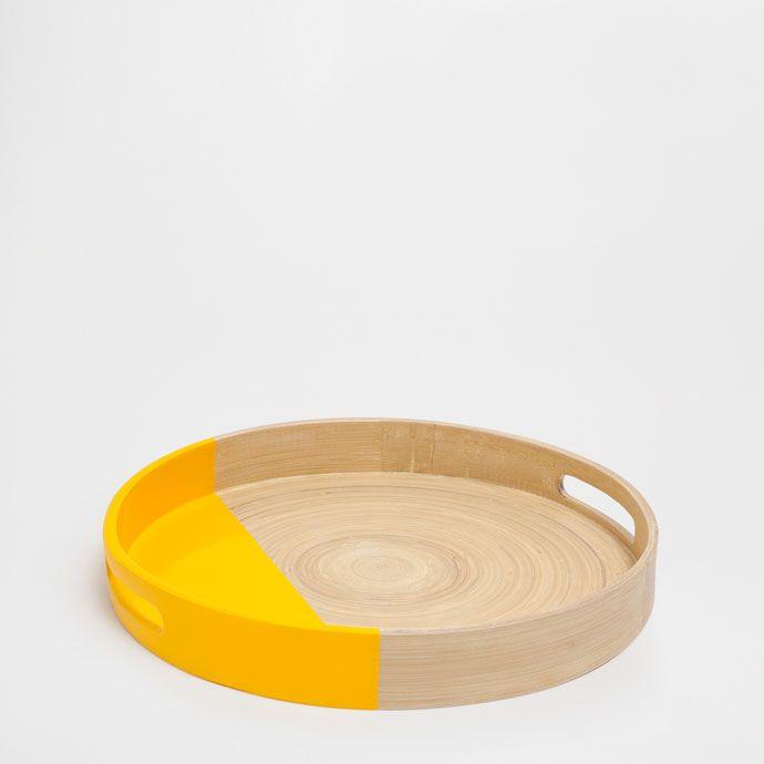 Imagen 1 del producto Bandeja bambú pequeña