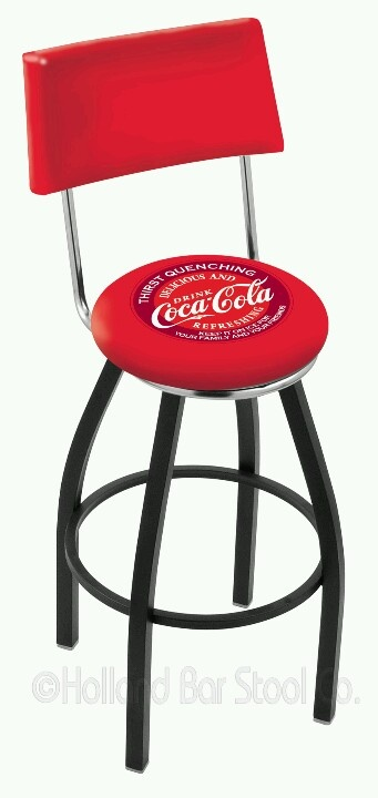 Coca Cola bar stool