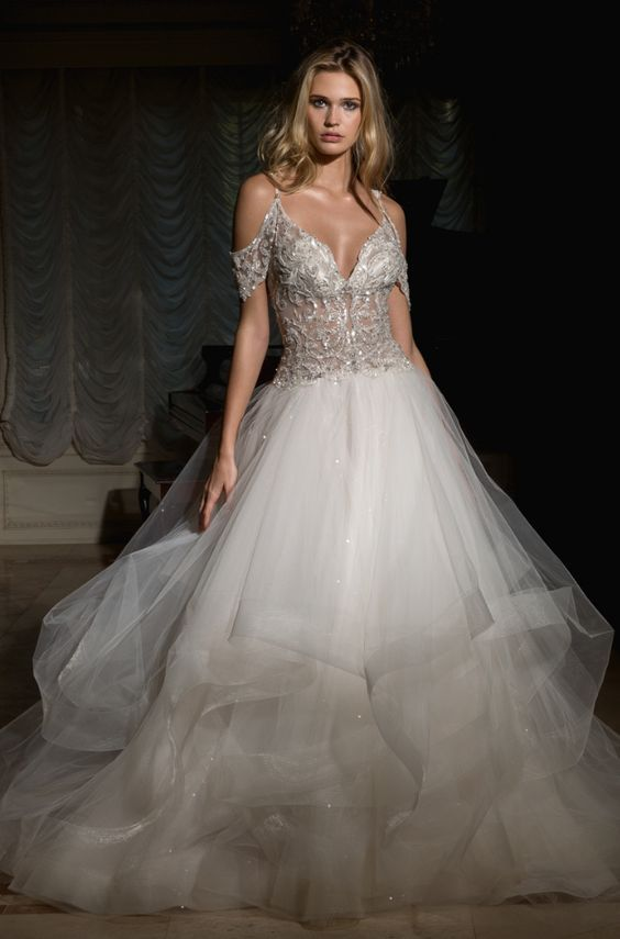 Featured Dress: Eve of Milady Bridals; Wedding dress idea.