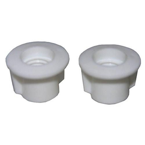 LASCO 14-1065 Toilet Seat Hinge 7/16-Inch Plastic Nuts and Washers, 2-Pack