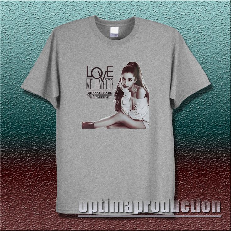 ariana grande 93 shirt love me harder feat the weeknd abel tesfaye tour concert #Unbranded #BasicTee singer band world tour concert