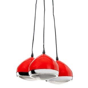 free zwarte car eye drievoudige hanglamp maison du monde. Black Bedroom Furniture Sets. Home Design Ideas