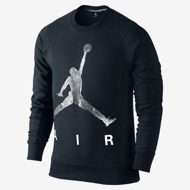 Jordan Jumpman Air Fleece Crew Men's Sweatshirt