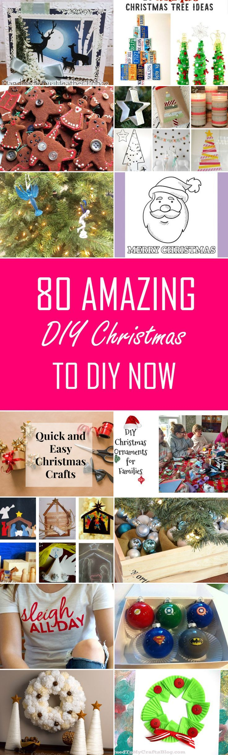 80 Amazing DIY Christmas To DIY Now