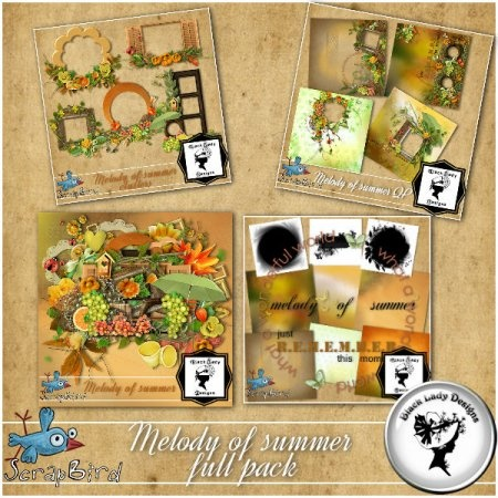 Melody of summer - full pack by Black Lady Designs