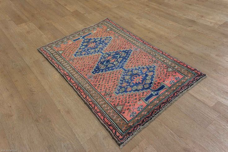 Hand Knotted Hamadan Rug from Iran (Persian). Length: 134.0cm by Width: 92.0cm. Only £289 at https://www.olneyrugs.co.uk/shop/rugs-for-sale/persian-hamadan-22371.html    Take a peek at our ravishing mixture of oriental and Persian rugs, carpets, kilim ottomans and Kilim bags at www.olneyrugs.co.uk