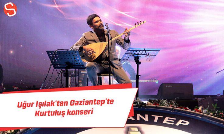 25 Aralık Gaziantep'in kurtuluşunun 95. Yıldönümü, ünlü sanatçı Uğur Işılak konserinin de yer aldığı programla kutlandı.  #uğurışılak #konser #gaziantebinkurtuluşu