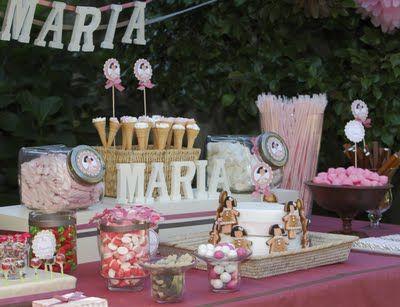 Mesas de chuches primera comuni n primera comuni n for Fotos de mesas de chuches para bodas