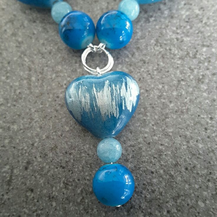 Hey, check out what I'm selling with Sello: Blue heart necklace  http://twistedhazelbeautifulgifts.sello.com/shares/x50Oq