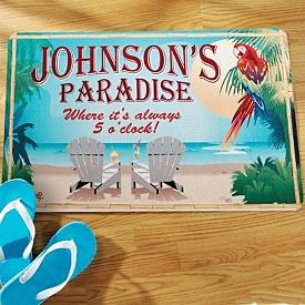 :): Johnson Paradis, Paradise Doormats, The Doors, Outdoor Rugs, Personalized Gifts, Gifts Ideas, Personalized Creations, Paradis Doormats, Bentley Paradis