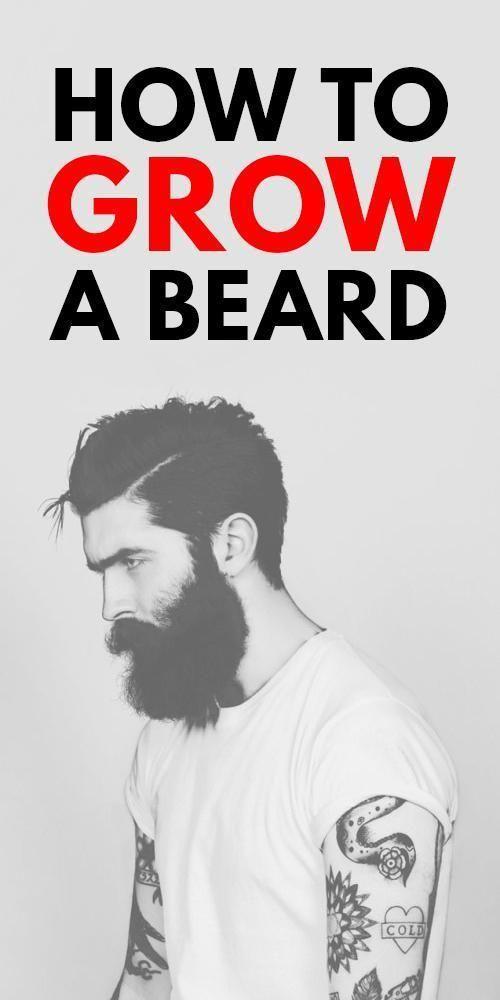 6 Quick Ways to Grow a Fuller Beard