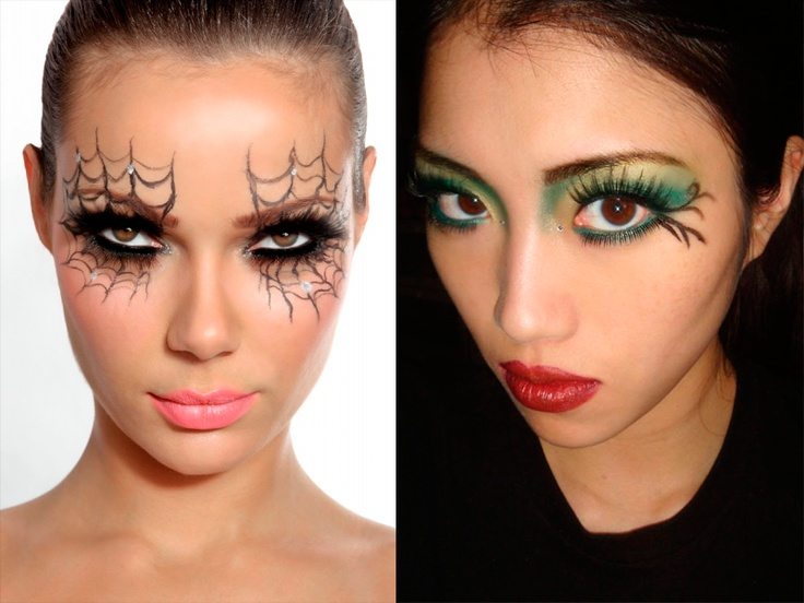 ideas de maquillaje para halloween deguapascom