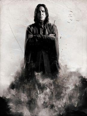Severus Snape by deej240z