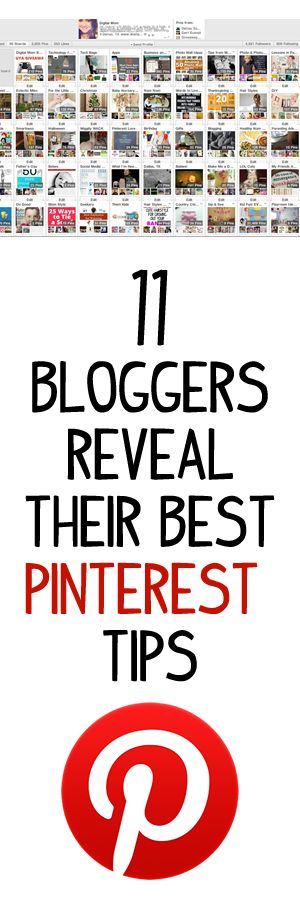 11 Bloggers Reveal Their Best Pinterest Tips | Infinite Marketing. #blogging #bloggers #blog #pinterest #social #media #tips