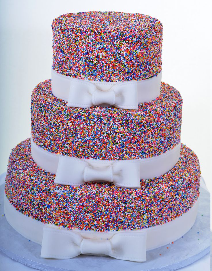 Pastry Palace Las Vegas - Wedding Cake 901 - A Case for Sprinkles