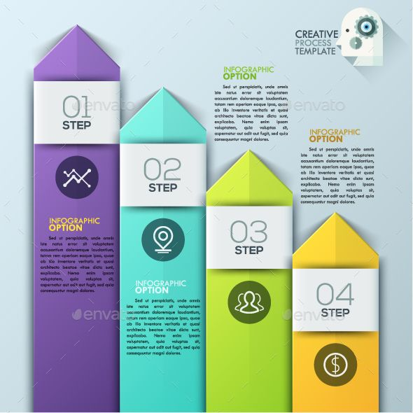Modern Infographics Arrow Template PSD, Vector EPS, AI. Download here: http://graphicriver.net/item/modern-infographics-arrow-template/15257633?ref=ksioks