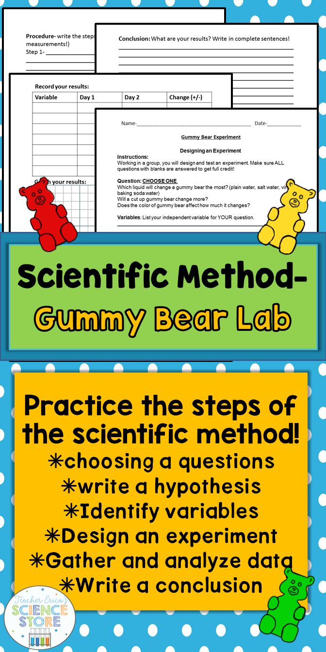 Looking for a fun and engaging lab to teach or reinforce the scientific  method? The