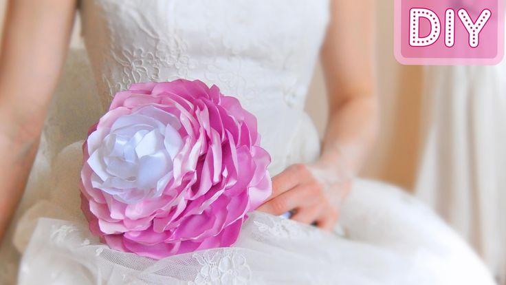 Как сделать Букет Невесты Своими Руками / Bridal bouquet. Tutorial / ✿ N...