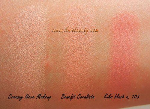 Benefit Coralista dupes