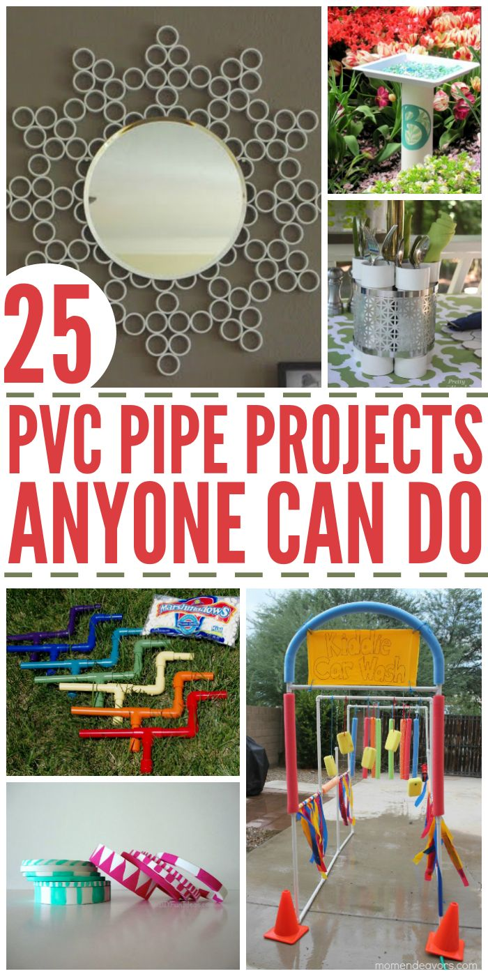 25 PVC Pipe Projects Anyone Can Do