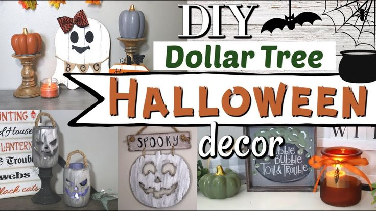 DIY Dollar Tree Halloween Decor | Halloween Decor …
