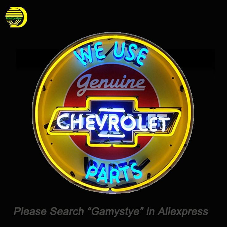 NEON SIGN For Chevrolet Parts Neon Bulbs Sign We Use retail signage HANDmade LOGO hanging neon signs vintage personalised light #Affiliate