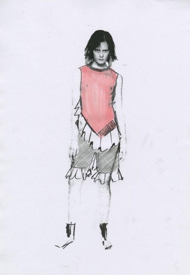 J W Anderson | Fashionary Hand