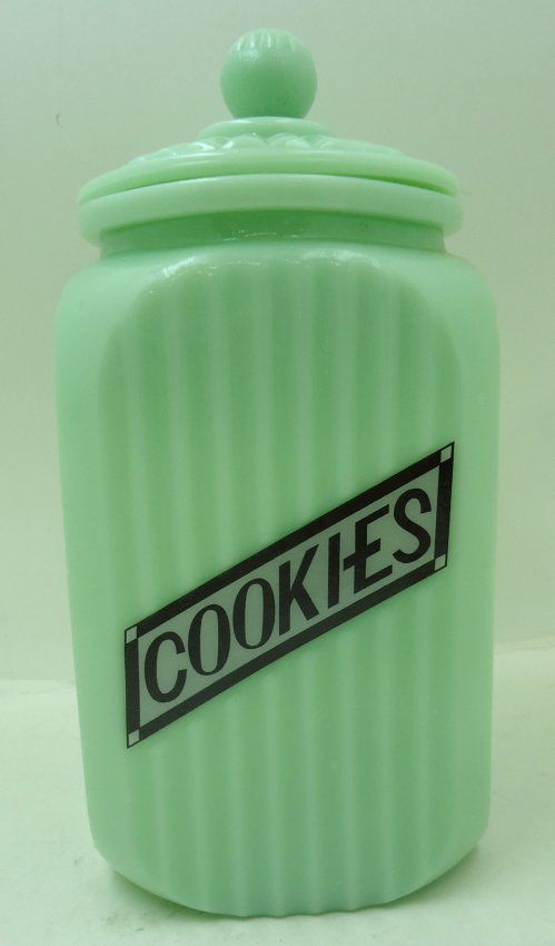 Jadeite Cookie Jar : Lot 66                                                                                                                                                                                 More