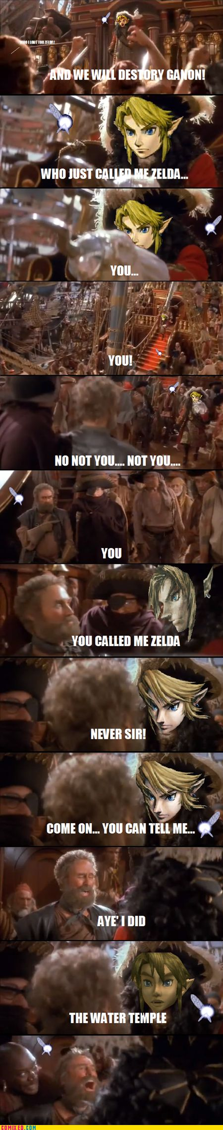 Comixed: Capt'n Link Won't Stand for This  This made me laugh XD