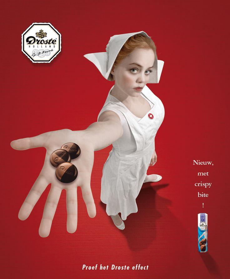 Droste campaign: Advertentie for magazine by Huub van Osch #vOSCH #huubvanosch #blahblahism #amsterdam #Droste