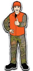 Online hunter safety course I'm taking.  huntercourse.com.