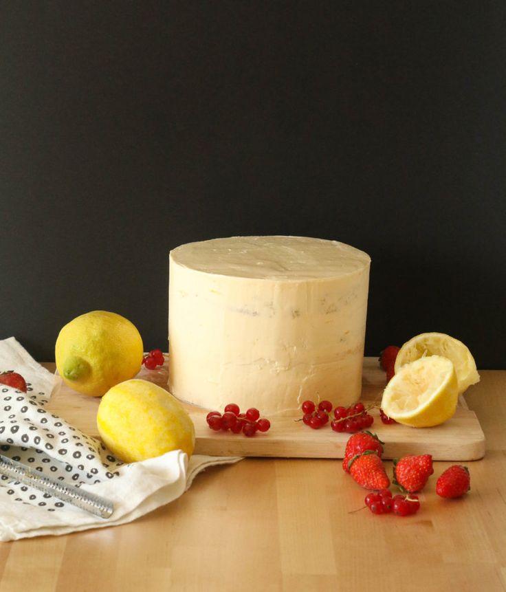 Torta de limón / Lemon cake
