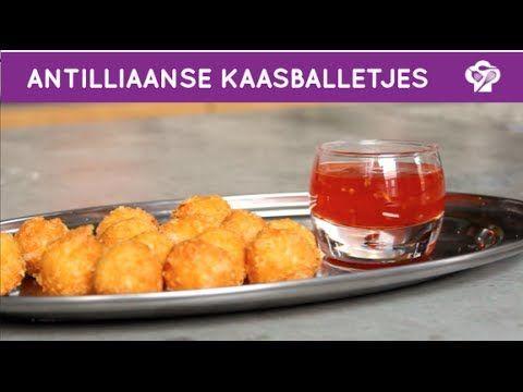 Antilliaanse kaasballetjes - Foodgloss - YouTube